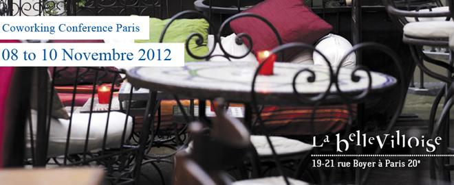 Venues-Coworking Conference 2012 Paris
