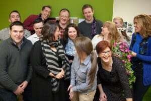 Coworkers at the Hub Newry, Northern Ireland