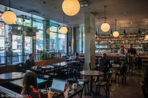 coworking in restaurants