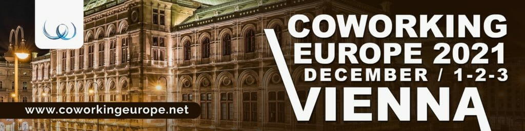 Join Coworking Europe 2021 conference in Vienna!