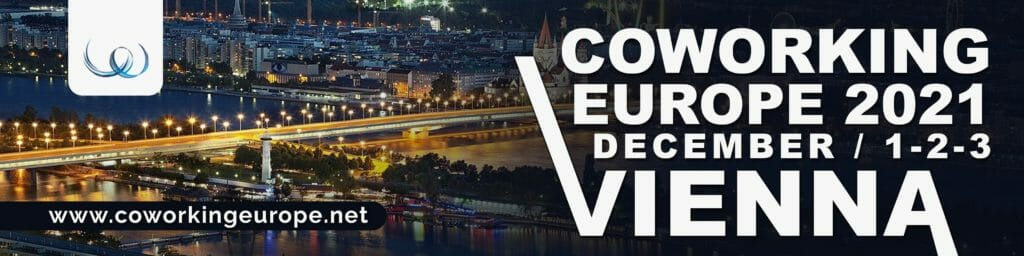 Join Coworking Europe 2021 in Vienna!